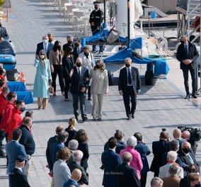 """Όλη η βασιλική οικογένεια του Μονακό στα  βαφτίσια του σκάφους """"Monaco One"""" - Νονά η πριγκίπισσα Camille η όμορφη κόρη της Στεφανί (φώτο)  - Κυρίως Φωτογραφία - Gallery - Video"""