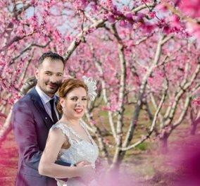 Good news οι ανθισμένες ροδακινιές Ημαθίας και Πέλλας  - Περιζήτητες από ζευγάρια Φινλανδίας &  Αυστραλίας για φωτογραφίες γάμου (βίντεο) - Κυρίως Φωτογραφία - Gallery - Video