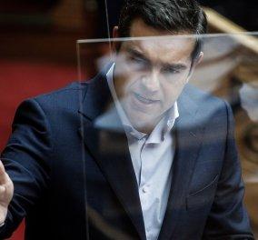 """Τσίπρας σε Μητσοτάκη: """"Στην πιο κρίσιμη στιγμή για την ελληνική κοινωνία επιλέγετε το διχασμό -  Τη μισή συγγνώμη για τη Νέα Σμύρνη την ευτελίσατε με ειρωνείες"""" (βίντεο) - Κυρίως Φωτογραφία - Gallery - Video"""