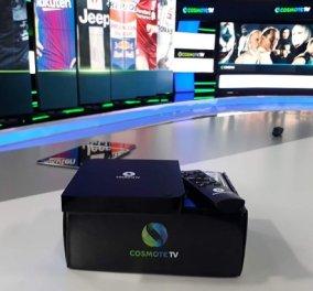 Νέα COSMOTE TV: 1 χρόνος λειτουργίας για τη Νο1 ελληνική streaming υπηρεσία - Κυρίως Φωτογραφία - Gallery - Video