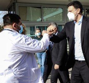 Βασίλης Κικίλιας: Τον Απρίλιο περιμένουμε να γίνουν πάνω από 1,5 εκατομμύρια εμβολιασμοί στην Ελλάδα - Κυρίως Φωτογραφία - Gallery - Video