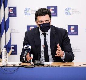 Βασίλης Κικίλιας: Αναμένουμε τις αποφάσεις του ΕΜΑ για το εμβόλιο της AstraZeneca, κανονικά η χορήγησή του στην Ελλάδα - Κυρίως Φωτογραφία - Gallery - Video