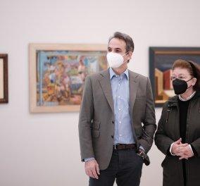 Στη Εθνική Πινακοθήκη ο Κυριάκος Μητσοτάκης, πριν τα εγκαίνια: Το ανακαινισμένο & εκσυγχρονισμένο κτίριο (φωτό & βίντεο) - Κυρίως Φωτογραφία - Gallery - Video