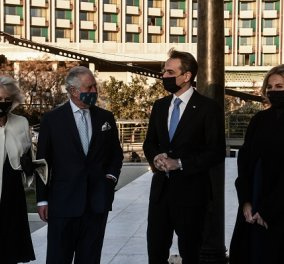 Εορτασμοί 25η Μαρτίου: Στην Αθήνα πρίγκιπας Κάρολος & Καμίλα - Οι υψηλοί προσκεκλημένοι ξεναγήθηκαν στην Εθνική Πινακοθήκη (φωτό & βίντεο) - Κυρίως Φωτογραφία - Gallery - Video