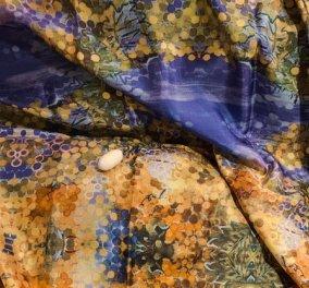 Αποκλειστικά στο eirinika: Τα 10 ολομέταξα μαντήλια της εικαστικού Βάσως Τρίγκα - H ζωγραφική «αναπνέει» την ελληνική φύση (φωτό) - Κυρίως Φωτογραφία - Gallery - Video