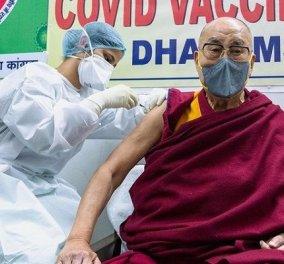 Celebrities και πολιτικοί που έχουν εμβολιαστεί κατά του covid: Από την Patti Smith και τον Tom Jones στον Δαλάι Λάμα (φωτό) - Κυρίως Φωτογραφία - Gallery - Video