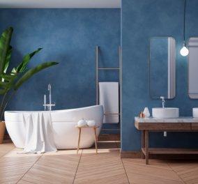 Ο Σπύρος Σούλης & οι υπέροχες ιδέες του: 10 Υπέροχες ιδέες για χρώμα στο μπάνιο: Να ποιες αποχρώσεις μπορείτε να βάλετε - Κυρίως Φωτογραφία - Gallery - Video