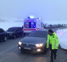 Τραγωδία στην Τουρκία: Συνετρίβη στρατιωτικό ελικόπτερο - Εννέα νεκροί - 4 τραυματίες (Φώτο-βίντεο)  - Κυρίως Φωτογραφία - Gallery - Video
