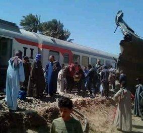 Αίγυπτος: Φονική σύγκρουση τρένων - Στους 32 οι νεκροί και 66 τραυματίες (βίντεο) - Κυρίως Φωτογραφία - Gallery - Video