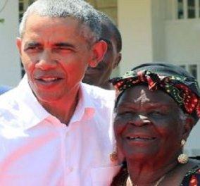 Πέθανε η Mama Sarah, η γιαγιά του Μπαράκ Ομπάμα: Όταν ο πρώην πρόεδρος των ΗΠΑ την είχε επισκεφτεί στην Κένυα (βίντεο) - Κυρίως Φωτογραφία - Gallery - Video