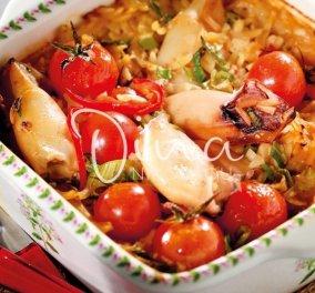 Η Ντίνα Νικολάου ετοίμασε μια μαγική γεύση για το σαρακοστιανό τραπέζι: Απίθανα καλαμαράκια γιουβέτσι με ούζο & γλυκάνισο  - Κυρίως Φωτογραφία - Gallery - Video