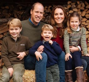 Τα γλυκά γράμματα του George, της Charlotte & του Louis στην «γιαγιά Νταϊάνα» - Και στην μαμά Kate Middleton δώρο μια τούρτα (φωτό) - Κυρίως Φωτογραφία - Gallery - Video