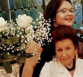 Η Μιμή Ντενίση θυμάται την μαμά της την Ημέρα της Γυναίκας: Η τρυφερή φωτό της Μαριτίνας μαζί με την γιαγιά της - «Ήταν το πρότυπό μου»  - Κυρίως Φωτογραφία - Gallery - Video