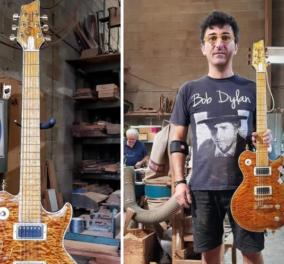 Μade in Greece o Γιάννης Γιάντσιος & οι «Κιθάρες του Ολύμπου» - Bon Jovi,  Iron Maiden,  Led Zeppelin πελάτες του (φωτό - βίντεο)  - Κυρίως Φωτογραφία - Gallery - Video