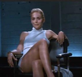 Sharon Stone: Δεν γνώριζε για την επίμαχη σκηνή στο «Βασικό Ένστικτο» - Πώς την ξεγελασαν και έβγαλε το εσώρουχο της (βίντεο) - Κυρίως Φωτογραφία - Gallery - Video