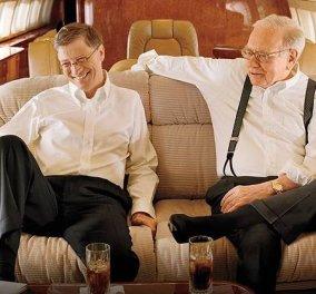 Ο Warren Buffett κάνει παρέα με τον Bill Gates και συμβουλεύουν: Να πώς θα βγάλετε το πρώτο εκατομμύριο, μετά τα 10 & μετά τα… (φωτό) - Κυρίως Φωτογραφία - Gallery - Video