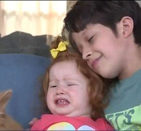 8χρονος ήρωας: Έσωσε την μικρή του αδερφή από πνιγμό - «Πάλι καλά που μου έμαθε να φωνάζω δυνατά» (βίντεο) - Κυρίως Φωτογραφία - Gallery - Video