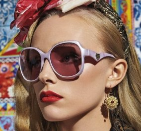 Εντυπωσιακά γυαλιά ηλίου στη νέα καμπάνια του Dolce & Gabbana: Η Άνοιξη και το Καλοκαίρι είναι γεμάτα χρώμα (φωτό & βίντεο) - Κυρίως Φωτογραφία - Gallery - Video