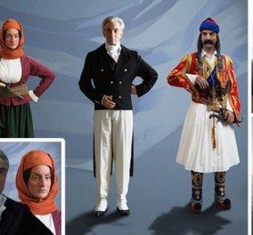 Ο Θ. Κολοκοτρώνης και η Μπουμπουλίνα στο μουσείο κέρινων ομοιωμάτων της Καβάλας - Για την επέτειο των 200 χρόνων από την Ελληνική Επανάσταση (φωτό) - Κυρίως Φωτογραφία - Gallery - Video