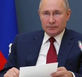 """Ο Πούτιν απαντά στο """"Είναι φονιάς' του Τζο Μπάιντεν : """"Του εύχομαι υγεία... αλλά ό,τι λες είσαι""""  - Κυρίως Φωτογραφία - Gallery - Video"""