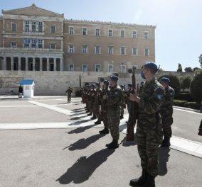 Επέτειος 25ης Μαρτίου: Το εορταστικό πρόγραμμα & οι καλεσμένοι - Αμερικανικά F-16 και γαλλικά Rafale στον ουρανό της Αθήνας (βίντεο) - Κυρίως Φωτογραφία - Gallery - Video
