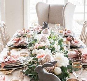30 ιδέες Art de la table για υψηλές απαιτήσεις - Το φετινό πασχαλινό τραπέζι έχει χρώμα -φινέτσα & στυλ (φώτο) - Κυρίως Φωτογραφία - Gallery - Video