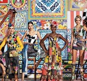 Ο Dolce & Gabbana προτείνει patchwork για την Άνοιξη και το Καλοκαίρι: Μα πόσα χρώματα και prints να χωρέσουν σε μια συλλογή (φωτό & βίντεο) - Κυρίως Φωτογραφία - Gallery - Video
