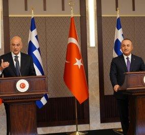 Ν. Δένδιας: Προϋπόθεση για την ανάπτυξη διμερών σχέσεων με την Τουρκία η παύση των προκλήσεων - Το παρασκήνιο της on air ρήξης με Τσαβούσογλου (φώτο-βίντεο) - Κυρίως Φωτογραφία - Gallery - Video