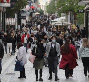 Κορωνοϊός - Ελλάδα: 1.400 νέα κρούσματα, 57 νεκροί και 816 διασωληνωμένοι - Κυρίως Φωτογραφία - Gallery - Video