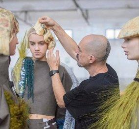 Απίθανος! Ισπανός κομμωτής αντί να βάφει τα μαλλιά τυπώνει πάνω σε αυτά - Με μια καινοτόμα τεχνική δημιουργεί μοναδικά σχέδια (φωτό) - Κυρίως Φωτογραφία - Gallery - Video