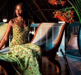 Η Naomi Campbell αποκαλύπτει τον παράδεισό της στην Κένυα: Ειδυλλιακό και ηλιόλουστο, χλιδάτο και γεμάτο αφρικανικές αντίκες (φωτό & βίντεο) - Κυρίως Φωτογραφία - Gallery - Video