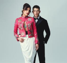 Βραβεία BAFTA 2021: Τα ζευγάρια που ξεχώρισαν -H παρουσιάστρια Πριγιάνκα Τσόπρα & ο Νικ Τζόνας, ο Χιου Γκραντ & η λεπτεπίλεπτη σύζυγός του (φωτό - βίντεο) - Κυρίως Φωτογραφία - Gallery - Video