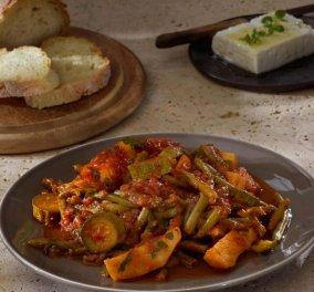 Αργυρώ Μπαρμπαρίγου: Φασολάκια λαδερά κοκκινιστά  -Εύκολη συνταγή με πολλά μυστικά  - Κυρίως Φωτογραφία - Gallery - Video