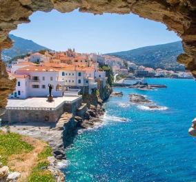 Επτά κορυφαίοι τουριστικοί προορισμοί στην Ελλάδα από το Der Spiegel - Η Άνδρος στην κορυφή (φωτό) - Κυρίως Φωτογραφία - Gallery - Video