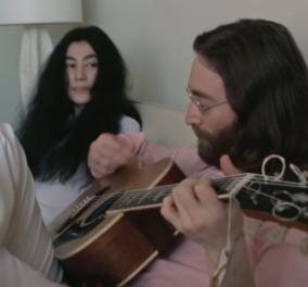 Vintage video: Για πρώτη φορά, Lennon και Ono κάνουν πρόβα on camera το «Give Peace a Chance» - Κυρίως Φωτογραφία - Gallery - Video