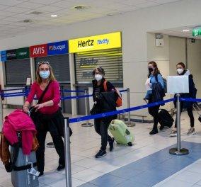 Ολοκληρώθηκε το πείραμα με τους 189 τουρίστες στην Ρόδο: Ετοιμάζονται για την επιστροφή οι Ολλανδοί - Έφτιαξαν πανό & έγραψαν ''ευχαριστούμε'' (φωτό) - Κυρίως Φωτογραφία - Gallery - Video