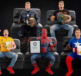 Αυτό θα πει σινεφίλ με ... πάθος - Είδε το «Avengers: Endgame» 191 φορές και κατέρριψε Ρεκόρ Γκίνες (φώτο) - Κυρίως Φωτογραφία - Gallery - Video