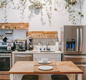Ο Σπύρος Σούλης δίνει ιδέες: Έτσι θα οργανώσετε μια κουζίνα με λίγα - ή καθόλου - ντουλάπια (φωτό) - Κυρίως Φωτογραφία - Gallery - Video
