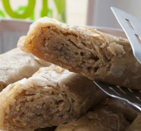 Πεντανόστιμος και νηστίσιμος: Ρολό μπακλαβά με καρύδι και ταχίνι - Η συνταγή του Στέλιου Παρλιάρου - Κυρίως Φωτογραφία - Gallery - Video