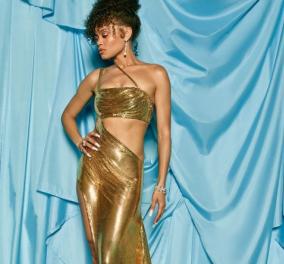 Οσκαρ 2021: Τι τα θέλεις τα χρυσά χρυσή μου; Στα Oscars η ανερχόμενη ηθοποιός έβαλε τα δυνατά της να φανεί κακόγουστη, ημίγυμνη (φωτό) - Κυρίως Φωτογραφία - Gallery - Video