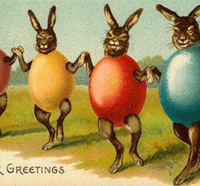 Αστείες Creepy & πρωτότυπες : Αυτές οι Vintage πασχαλινές κάρτες θα σας κάνουν να χαμογελάσετε (φώτο) - Κυρίως Φωτογραφία - Gallery - Video