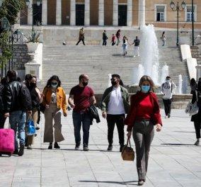 Κορωνοϊός - Ελλάδα:  3.833 νέα κρούσματα & ρεκόρ με 104  θανάτους - 819 οι διασωληνωμένοι - Κυρίως Φωτογραφία - Gallery - Video