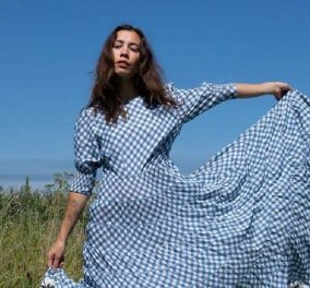Τα ωραιότερα φορέματα του καλοκαιριού είναι καρό & πουά - Ρομαντικά - κομψά - υπέροχα (φώτο) - Κυρίως Φωτογραφία - Gallery - Video