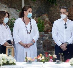 Χανιά: Όλη η οικογένεια του πρωθυπουργού στο μνημόσυνο για τα 4 χρόνια από το θάνατο του Κων. Μητσοτάκη - Συγκινημένες Ντόρα & Μαρέβα (φώτο-βίντεο) - Κυρίως Φωτογραφία - Gallery - Video