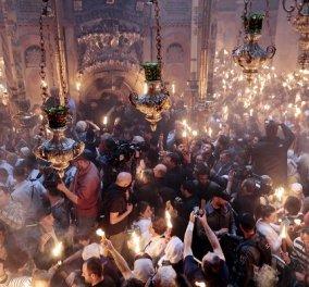 Δεύτε λάβετε Φως: Με λαμπρότητα η τελετή αφής στα Ιεροσόλυμα - Σε λίγο στο eirinika αποκλειστικές φωτό από την υποδοχή του στο αεροδρόμιο - Κυρίως Φωτογραφία - Gallery - Video
