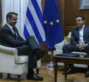 Δημοσκόπηση Opinion Poll: Στο 17,4% η διαφορά της ΝΔ έναντι του ΣΥΡΙΖΑ - Ποια η άποψη για τους πολιτικούς αρχηγούς (φωτό) - Κυρίως Φωτογραφία - Gallery - Video