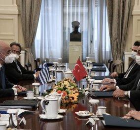 Συνάντηση Μητσοτάκη - Ερντογάν στις 14 Ιουνίου: Τι συζήτησαν Νίκος Δένδιας και Μεβλούτ Τσαβούσογλου (φωτό & βίντεο) - Κυρίως Φωτογραφία - Gallery - Video