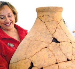 Top Woman η Δρ. Αθανασία Κάντα: Η αρχαιολόγος που αποκαλύπτει τα μυστικά των νέων εκπληκτικών θησαυρών της Κνωσού (φωτό) - Κυρίως Φωτογραφία - Gallery - Video