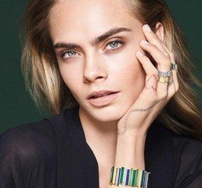 Η Cara Delevingne με τα υπέροχα κοσμήματα του Dior: Βραχιόλια & ρολόγια στη νέα συλλογή - επιτομή της κομψότητας (φωτό & βίντεο) - Κυρίως Φωτογραφία - Gallery - Video