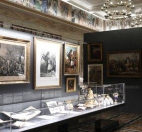 Ανοιχτή στο κοινό από σήμερα η επετειακή έκθεση της Βουλής των Ελλήνων για το 1821 - ''Αντικρίζοντας την Ελευθερία!'' - Κυρίως Φωτογραφία - Gallery - Video
